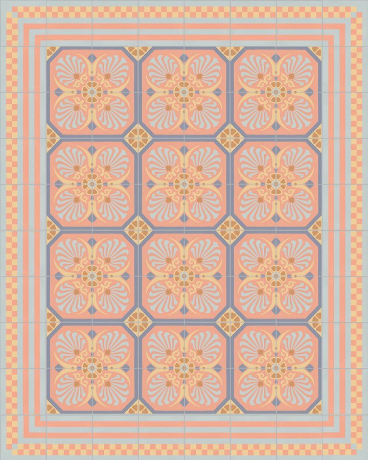 Floor tiles Floor Tiles multi-coloured Layouts and patterns SFTG 8303 N