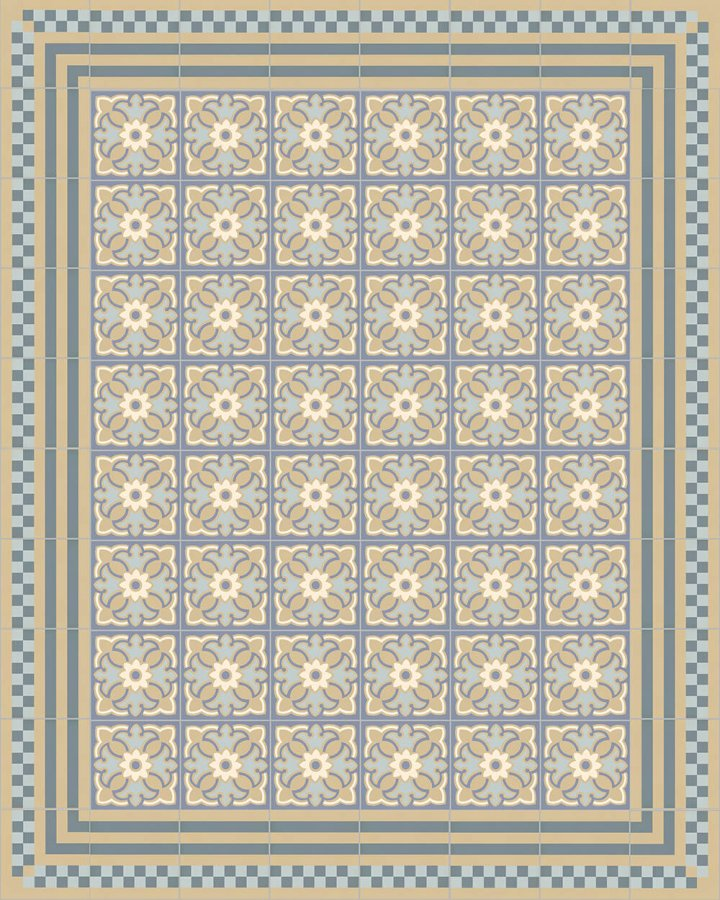 Floor tiles Floor Tiles multi-coloured Layouts and patterns SFTG 8303 O e