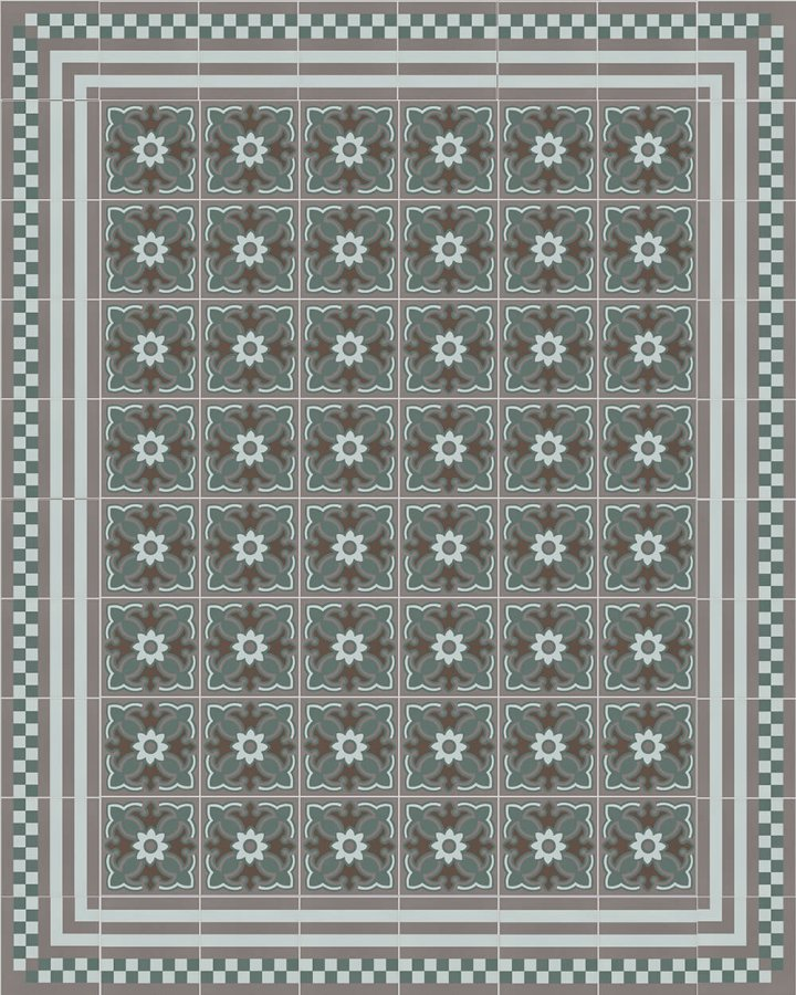 Floor tiles Floor Tiles multi-coloured Layouts and patterns SF 420 R