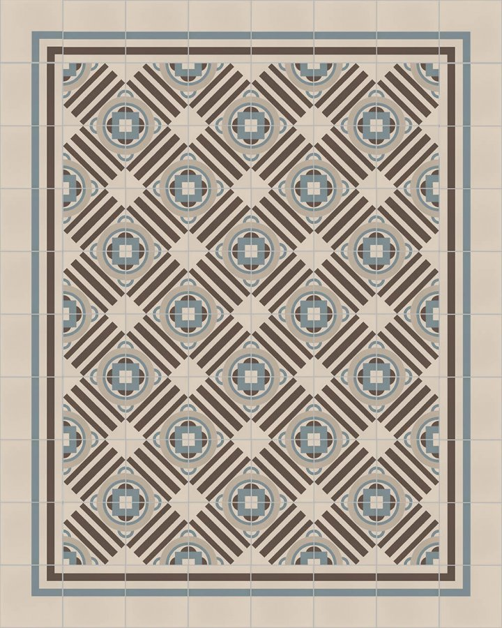 Floor tiles Floor Tiles multi-coloured Layouts and patterns SFTG 8308 A