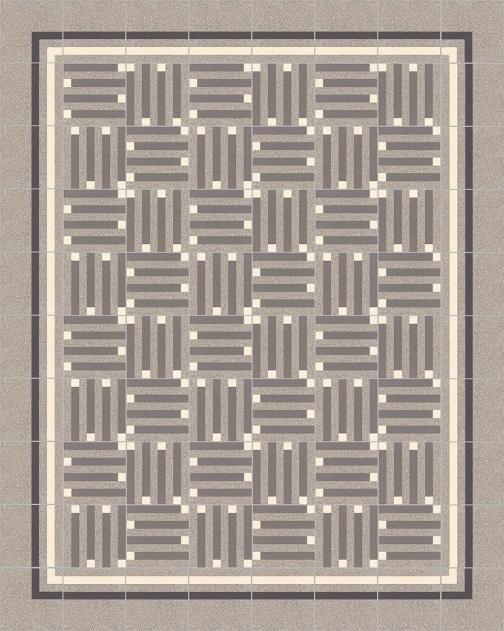 Floor tiles Floor Tiles multi-coloured Layouts and patterns SFTG 8301 C