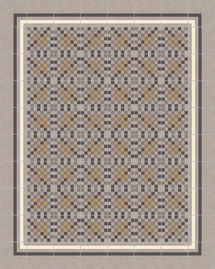 Floor tiles Floor Tiles multi-coloured Layouts and patterns SFTG 8308 C e