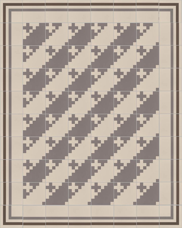 Floor tiles Floor Tiles multi-coloured Layouts and patterns SFTG 7201 E a