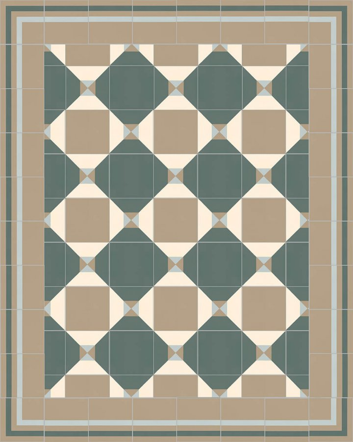 Floor tiles Floor Tiles multi-coloured Layouts and patterns SFTG 8308 G