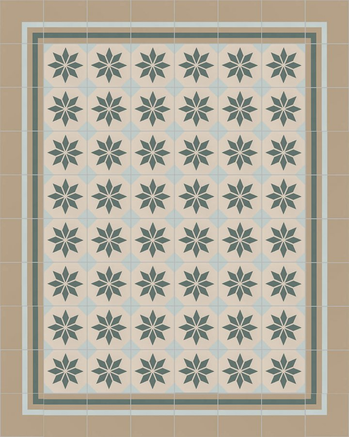Floor tiles Floor Tiles multi-coloured Layouts and patterns SFTG 8308 G e