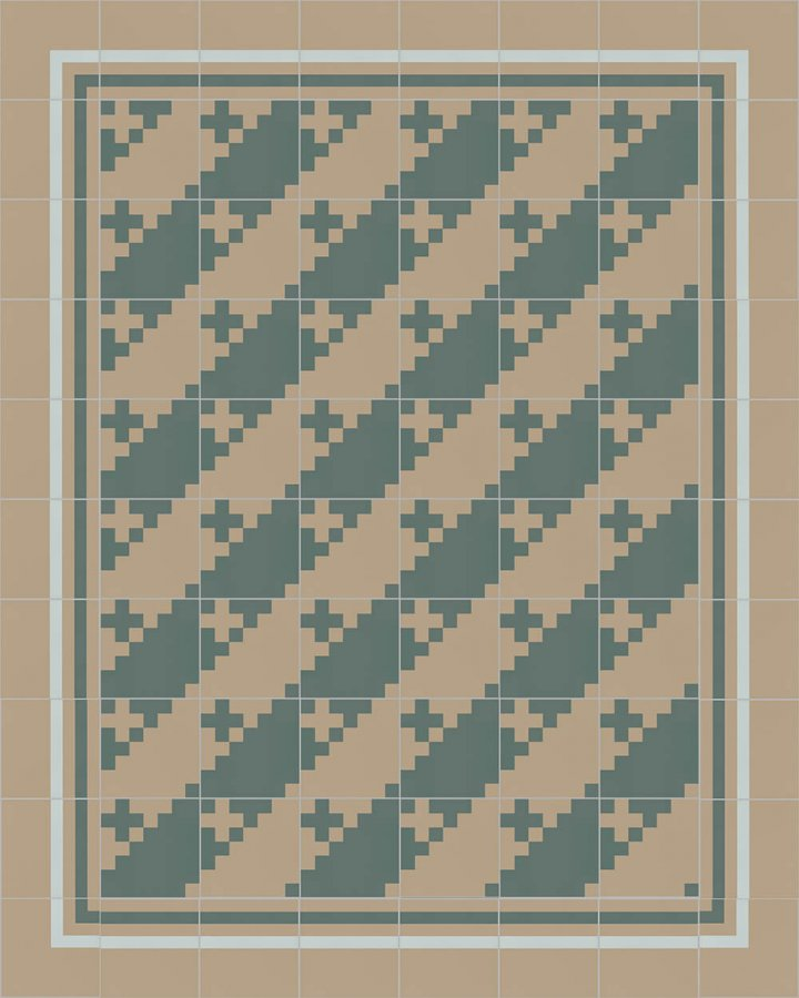 Floor tiles Floor Tiles multi-coloured Layouts and patterns SFTG 7201 G a