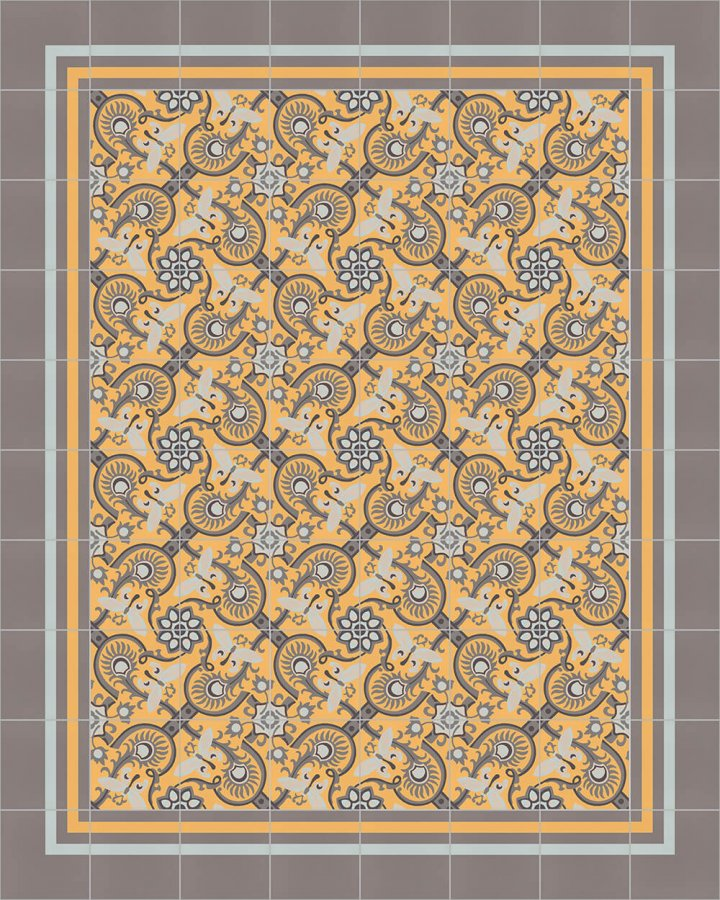 Floor tiles Floor Tiles multi-coloured Layouts and patterns SF 565 H