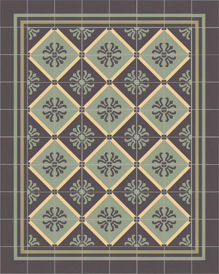 Floor tiles Floor Tiles multi-coloured Layouts and patterns SF 323 J