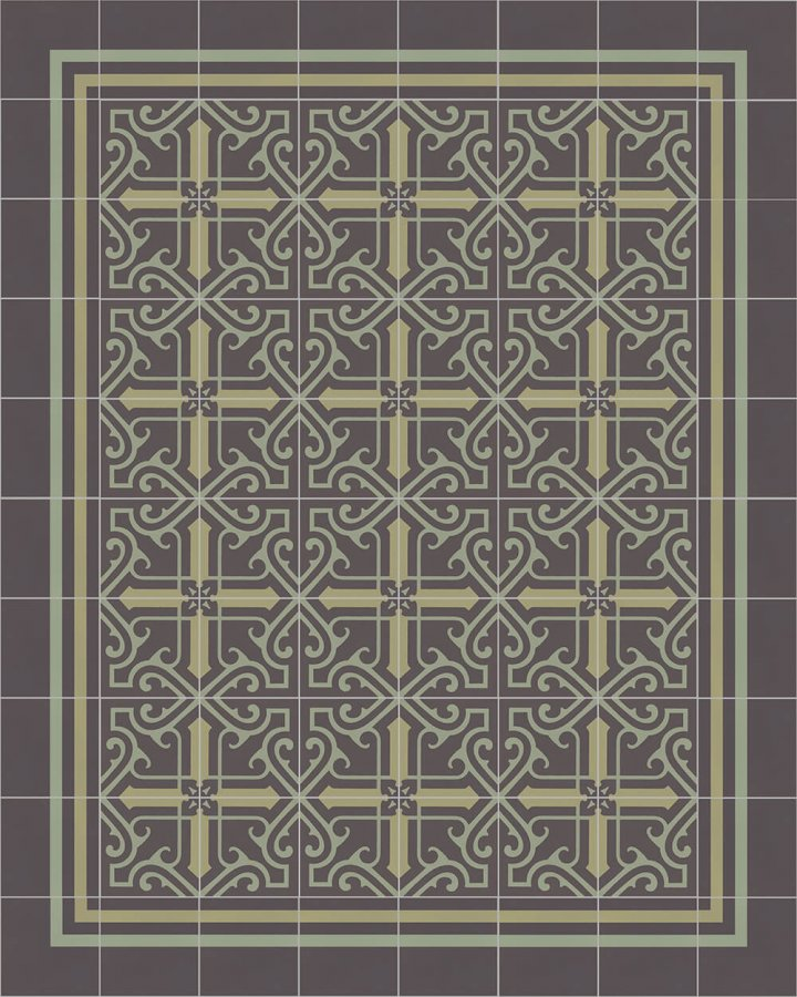 Floor tiles Floor Tiles multi-coloured Layouts and patterns SFTG 8308 J e