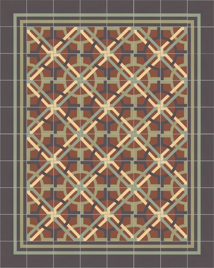 Floor tiles Floor Tiles multi-coloured Layouts and patterns SF 566 J