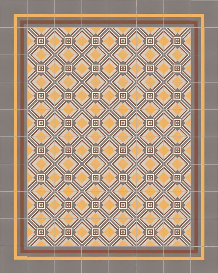 Floor tiles Floor Tiles multi-coloured Layouts and patterns SF 559 K