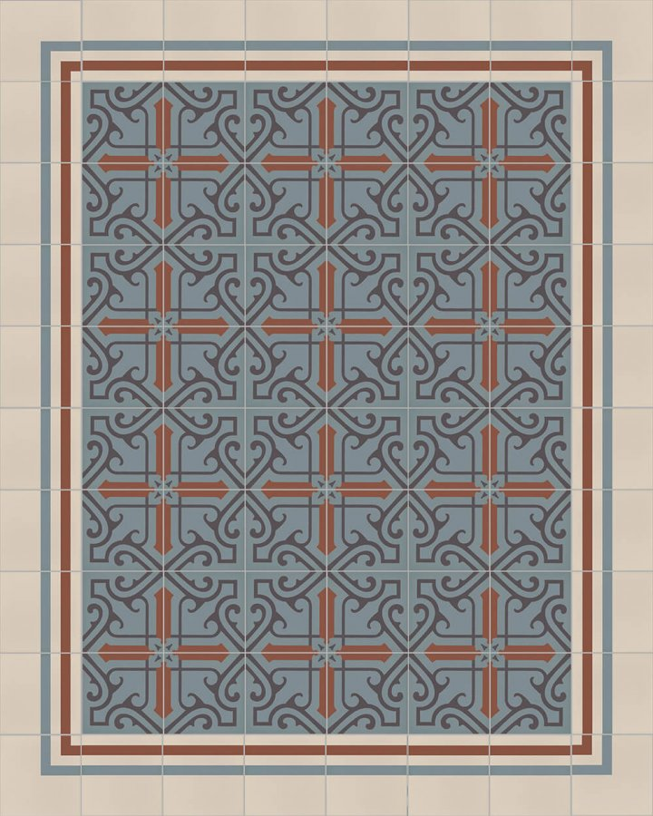 Floor tiles Floor Tiles multi-coloured Layouts and patterns SF 325 L