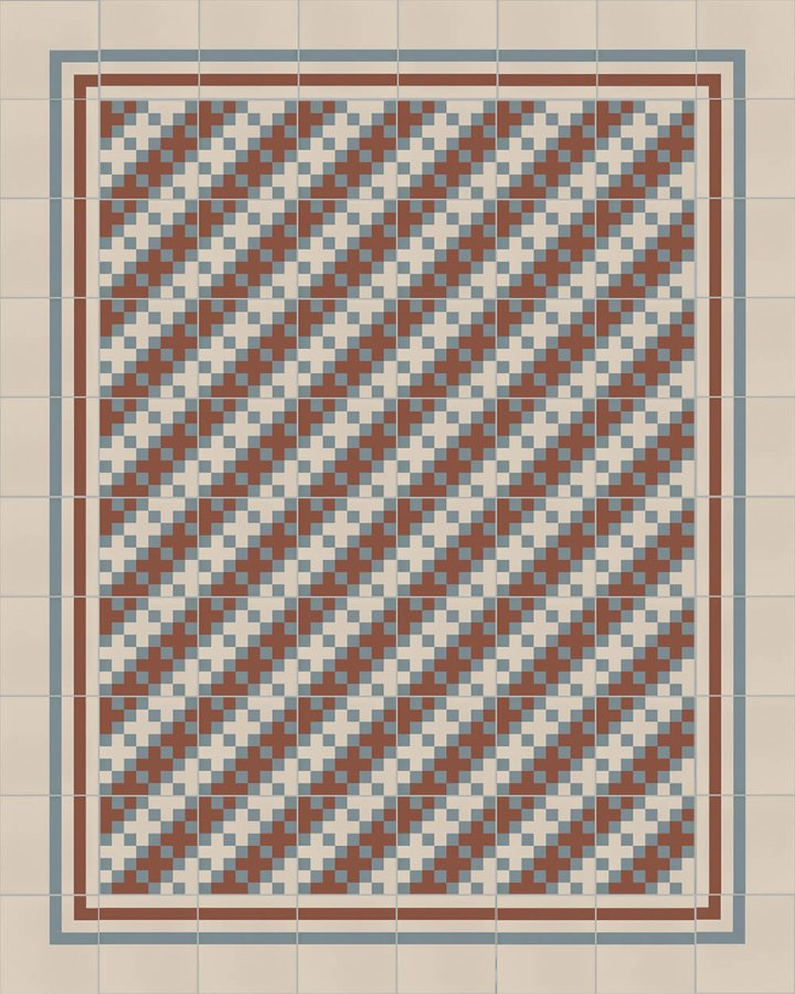 Layouts and patterns SFTG 8308 L