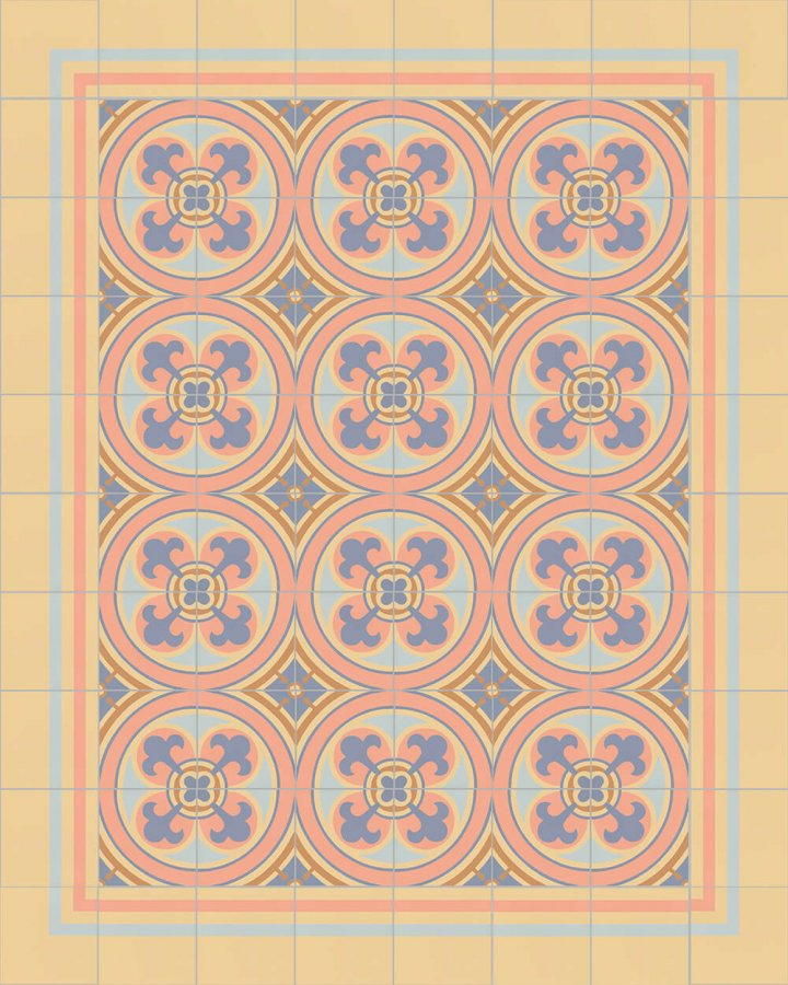Floor tiles Floor Tiles multi-coloured Layouts and patterns SFTG 8308 N e
