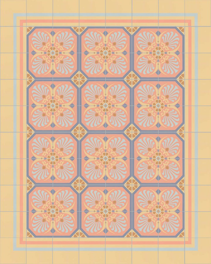 Floor tiles Floor Tiles multi-coloured Layouts and patterns SFTG 8308 N