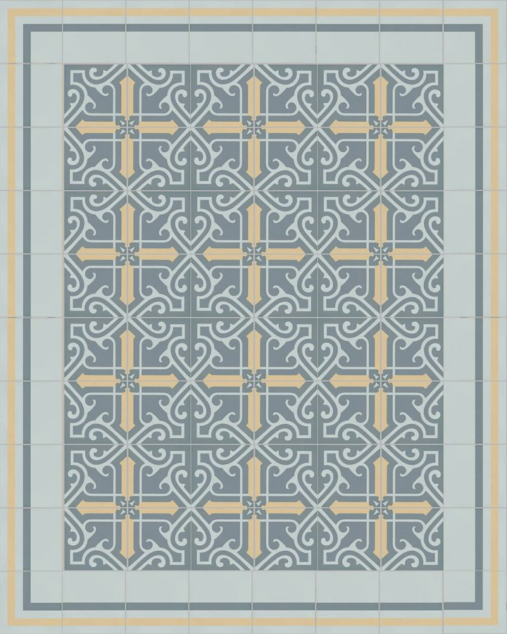 Floor tiles Floor Tiles multi-coloured Layouts and patterns SF 325 O