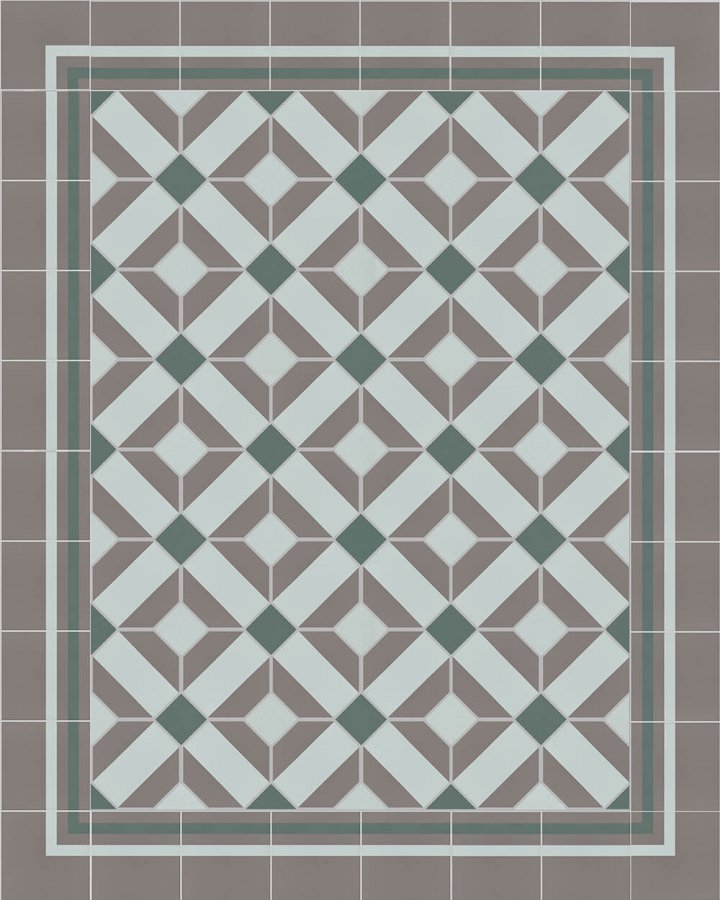 Floor tiles Floor Tiles multi-coloured Layouts and patterns SFTG 8308 R