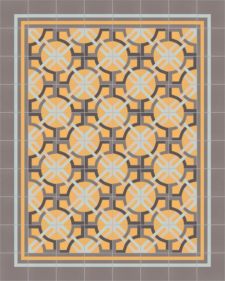 Floor tiles Floor Tiles multi-coloured Layouts and patterns SF 566 H