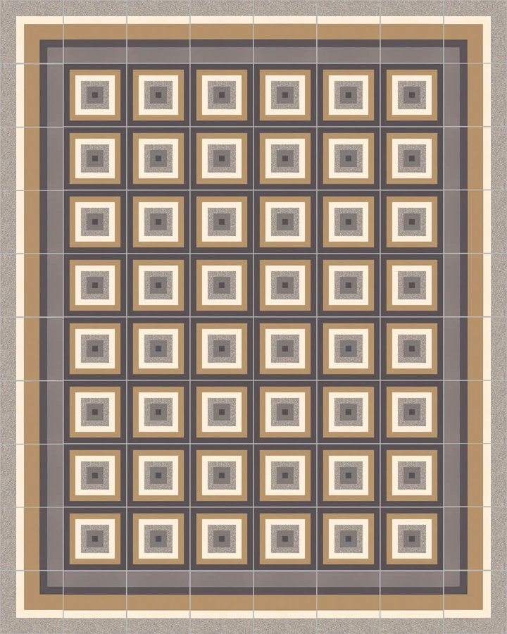 Floor tiles Floor Tiles multi-coloured Layouts and patterns SFTG 11504 C