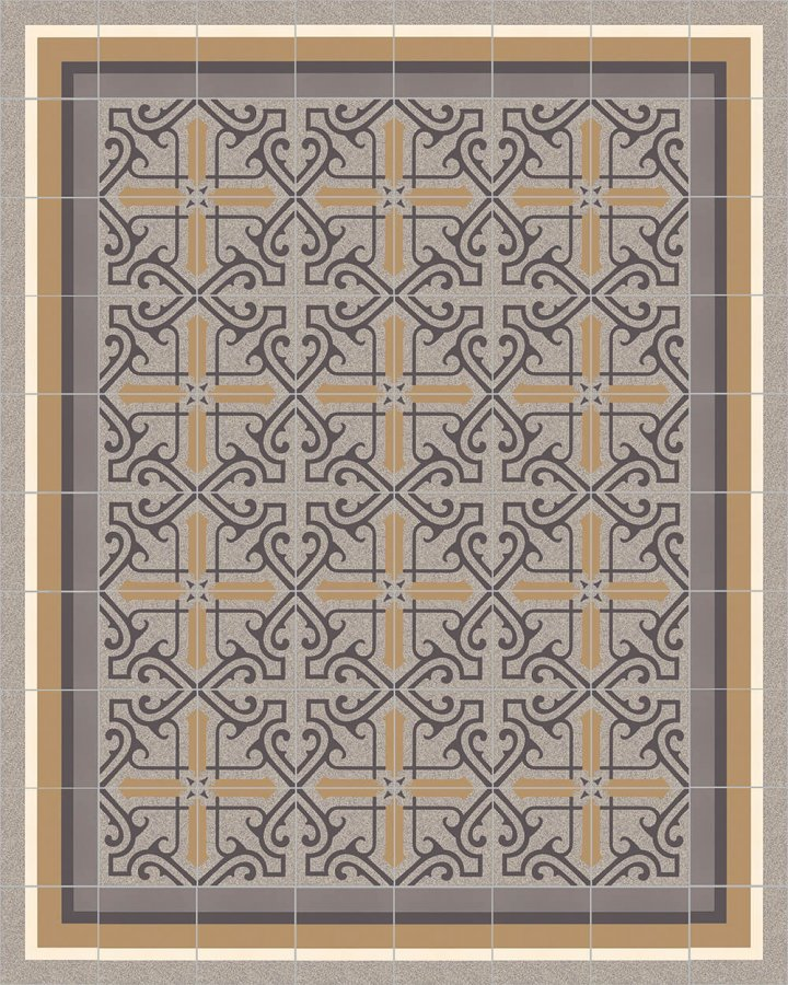 Floor tiles Floor Tiles multi-coloured Layouts and patterns SFTG 8505  C e