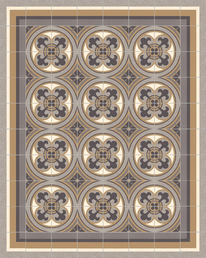Layouts and patterns SFTG 8505 C