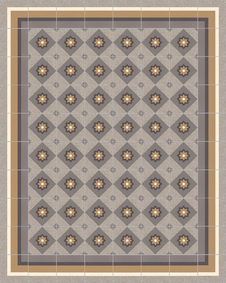 Floor tiles Floor Tiles multi-coloured Layouts and patterns SF 560 C