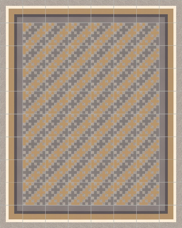 Floor tiles Floor Tiles multi-coloured Layouts and patterns SFTG 8306 C