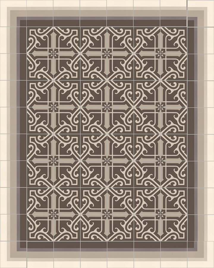 Floor tiles Floor Tiles multi-coloured Layouts and patterns SF 325 E