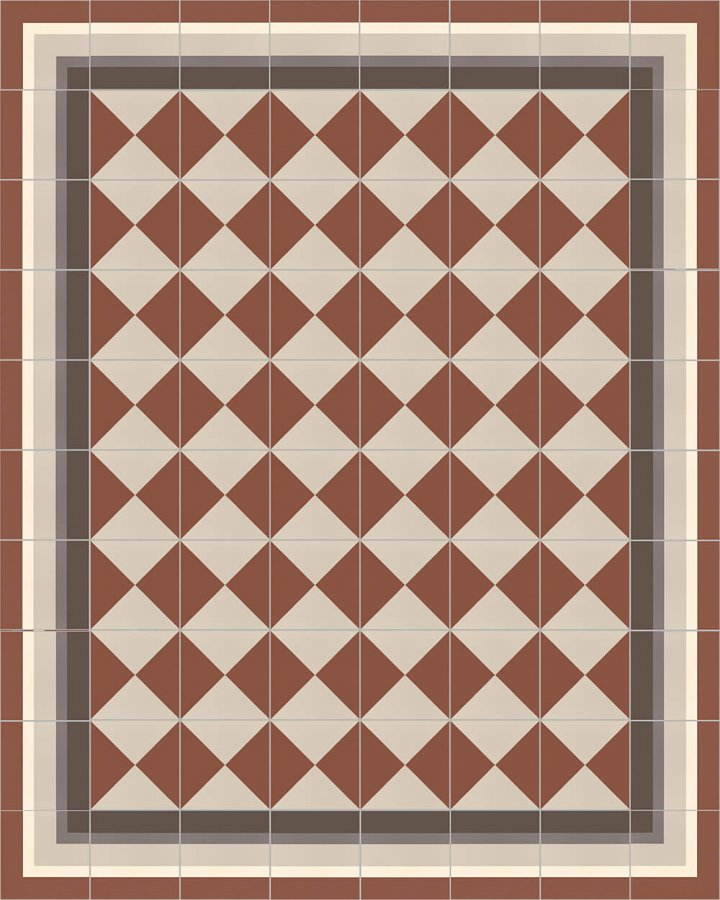 Floor tiles Floor Tiles multi-coloured Layouts and patterns SFTG 8505 F