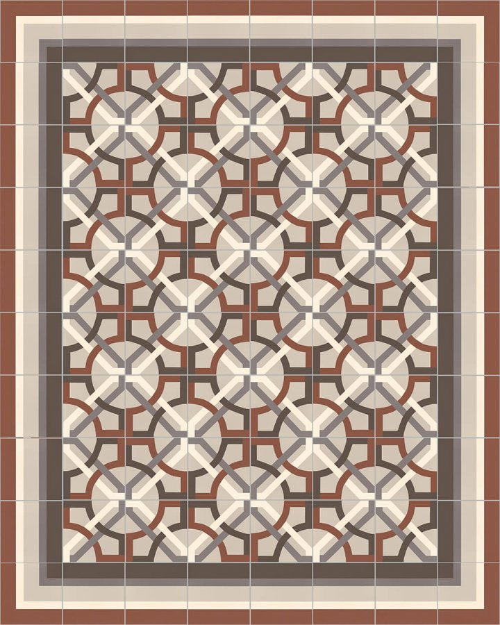 Floor tiles Floor Tiles multi-coloured Layouts and patterns SF 566 F
