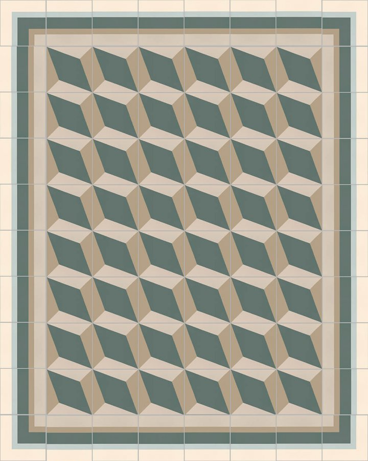 Floor tiles Floor Tiles multi-coloured Layouts and patterns SF 302 G