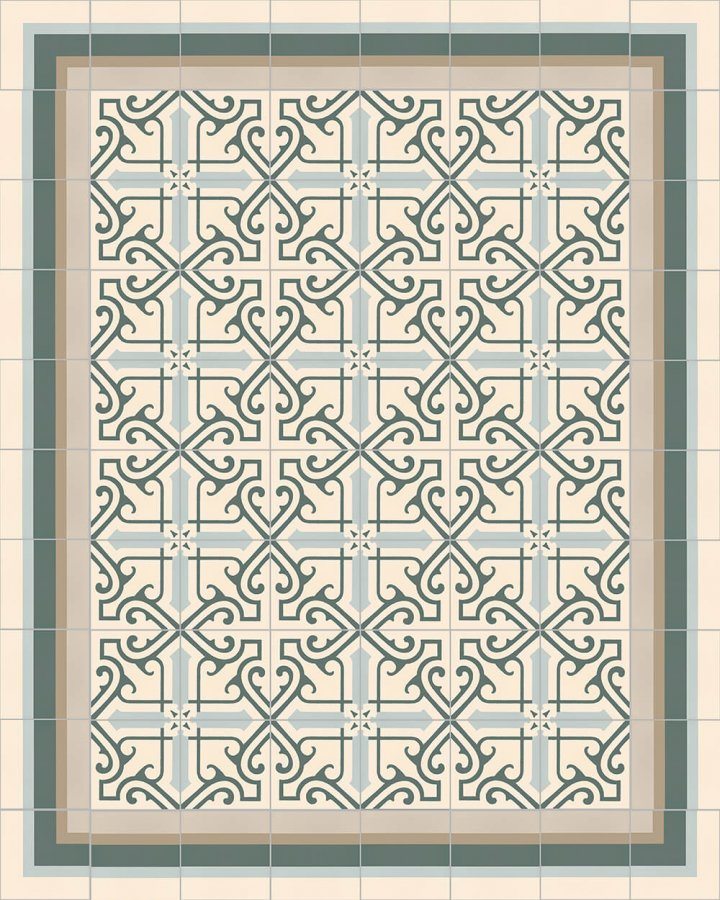 Floor tiles Floor Tiles multi-coloured Layouts and patterns SF 325 G
