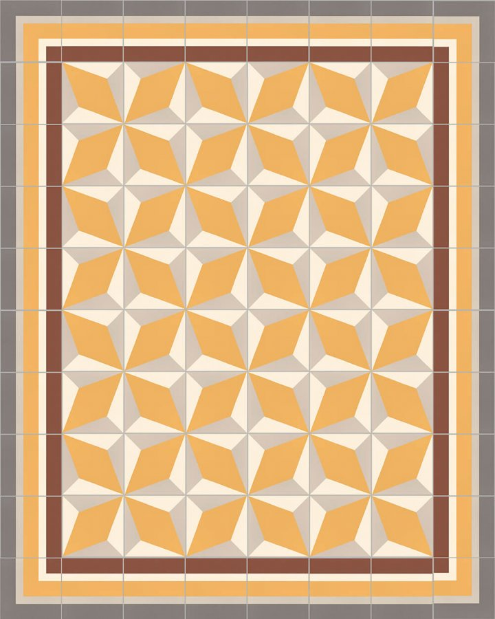 Floor tiles Floor Tiles multi-coloured Layouts and patterns SF 302 K