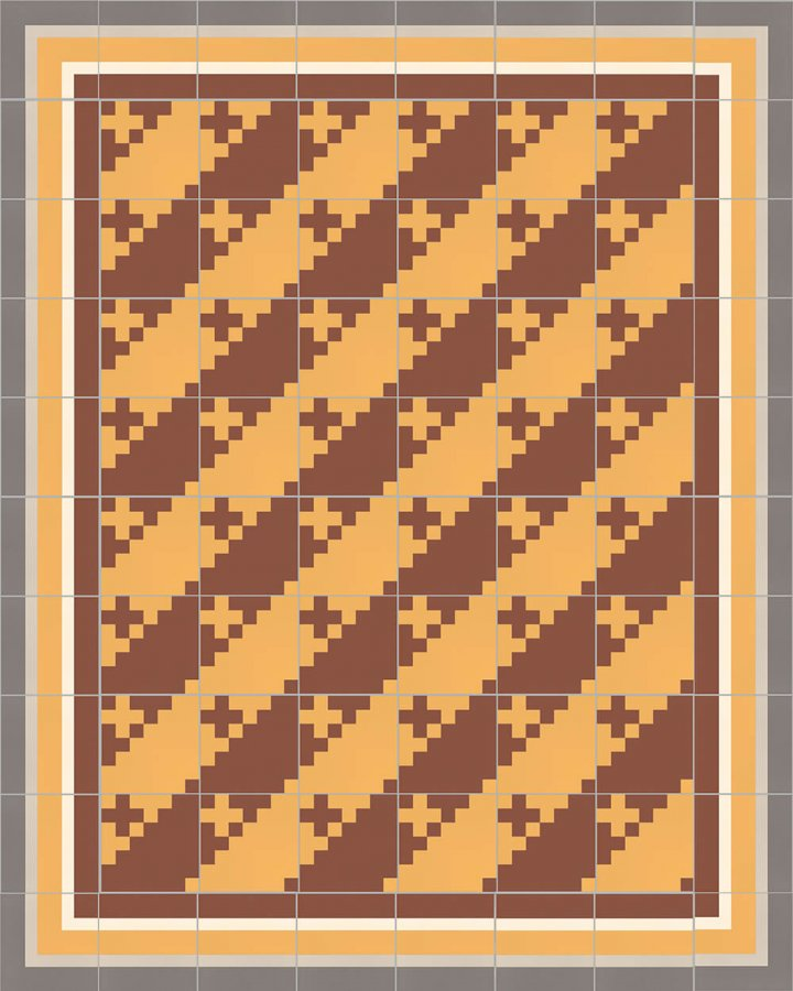 Floor tiles Floor Tiles multi-coloured Layouts and patterns SFTG 7201 K b
