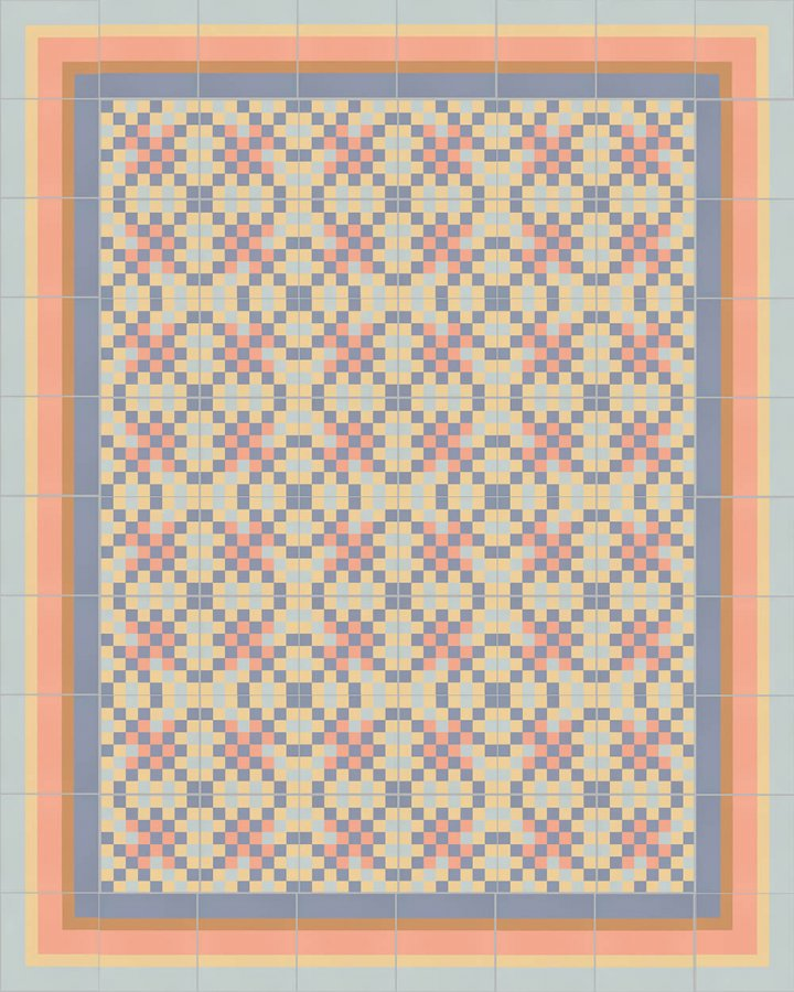 Floor tiles Floor Tiles multi-coloured Layouts and patterns SFTG 8505 N e