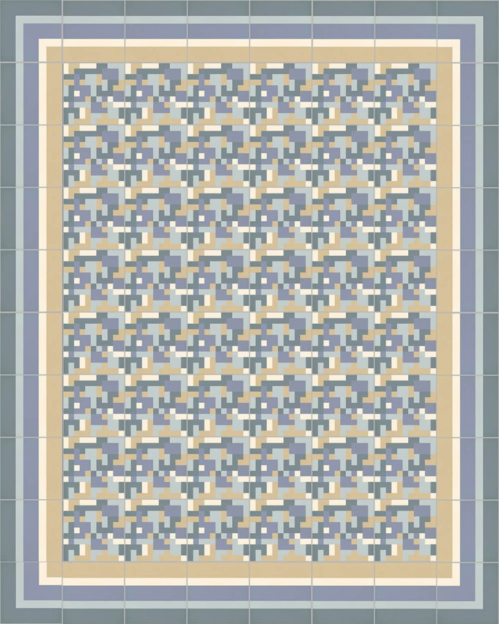 Floor tiles Floor Tiles multi-coloured Layouts and patterns SFTG 8505 O