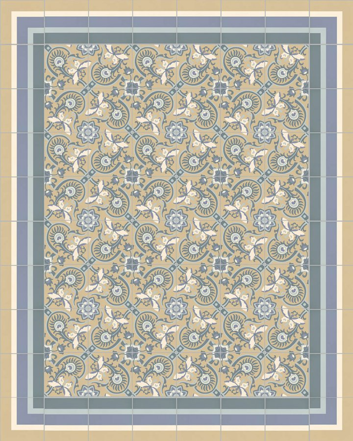 Floor tiles Floor Tiles multi-coloured Layouts and patterns SFTG 8505 O e