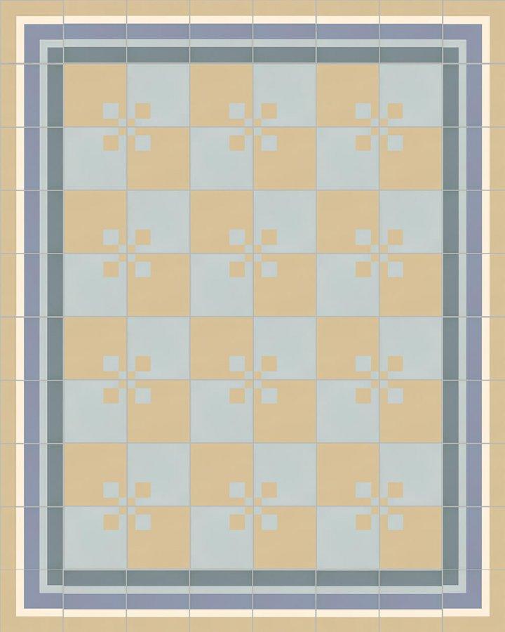 Floor tiles Floor Tiles multi-coloured Calepinage SFTG 8207 O a