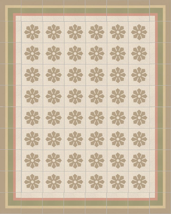 Floor tiles Floor Tiles multi-coloured Layouts and patterns SF 244 P