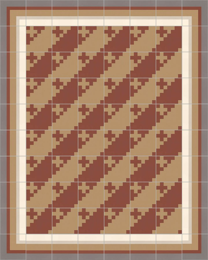Floor tiles Floor Tiles multi-coloured Layouts and patterns SFTG 7201 D b