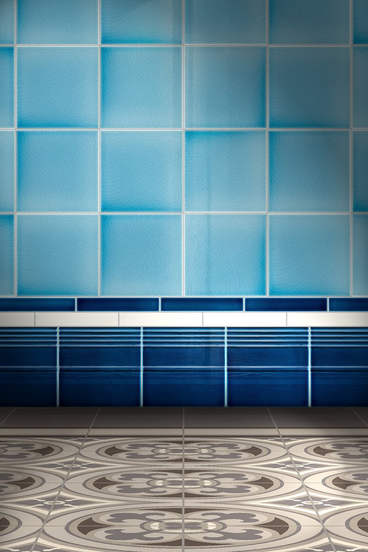 Wall tiles Borders, base tiles and trim pieces Verlegebeispiel SOF 3.653