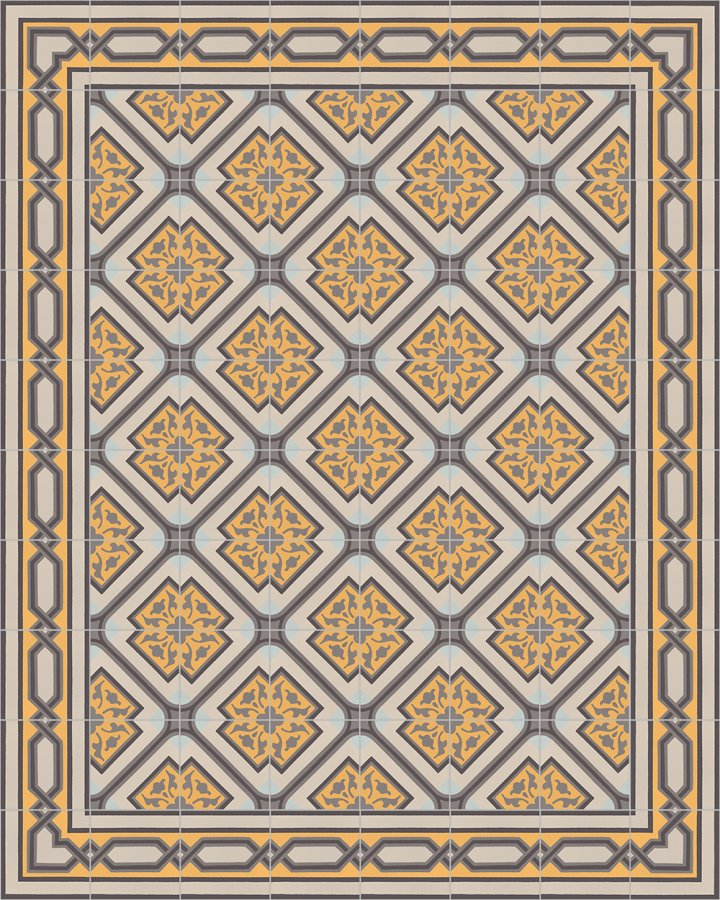 Floor tiles Floor Tiles multi-coloured Layouts and patterns SF 556 H