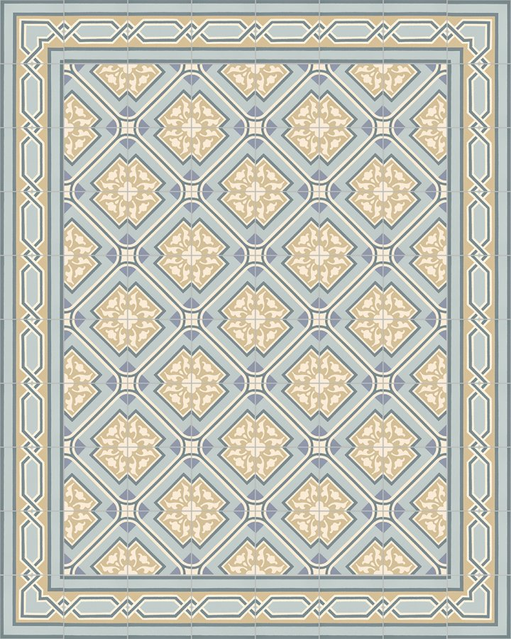 Floor tiles Floor Tiles multi-coloured Layouts and patterns SF 556 O