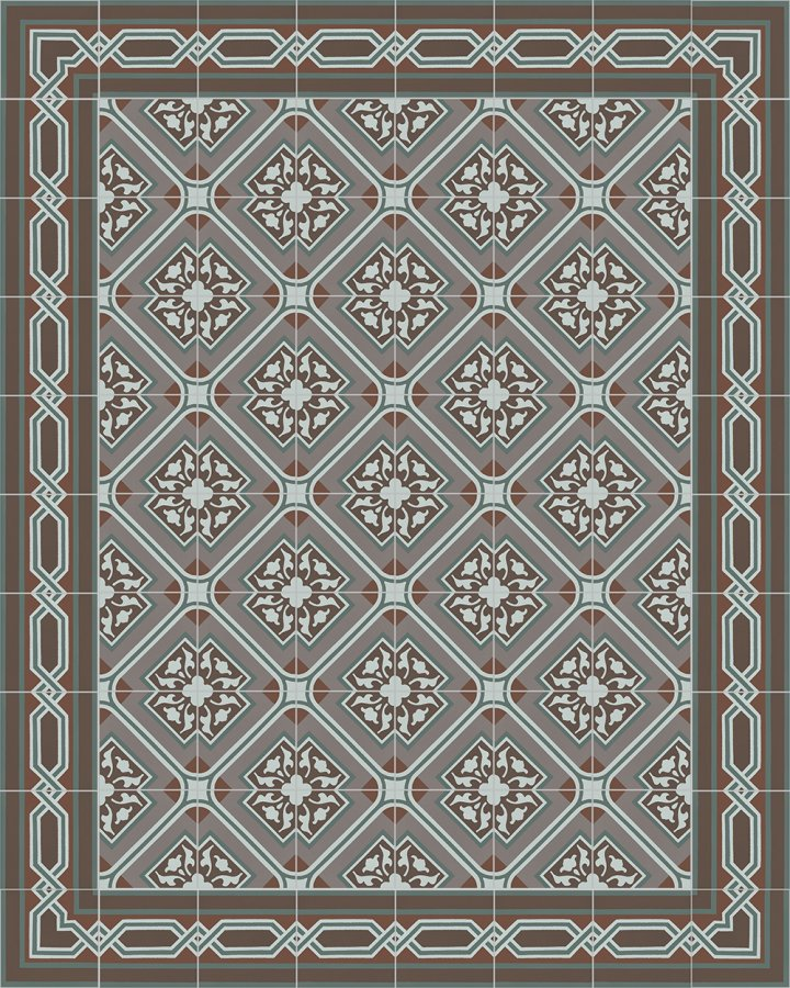 Floor tiles Floor Tiles multi-coloured Layouts and patterns SF 556 R