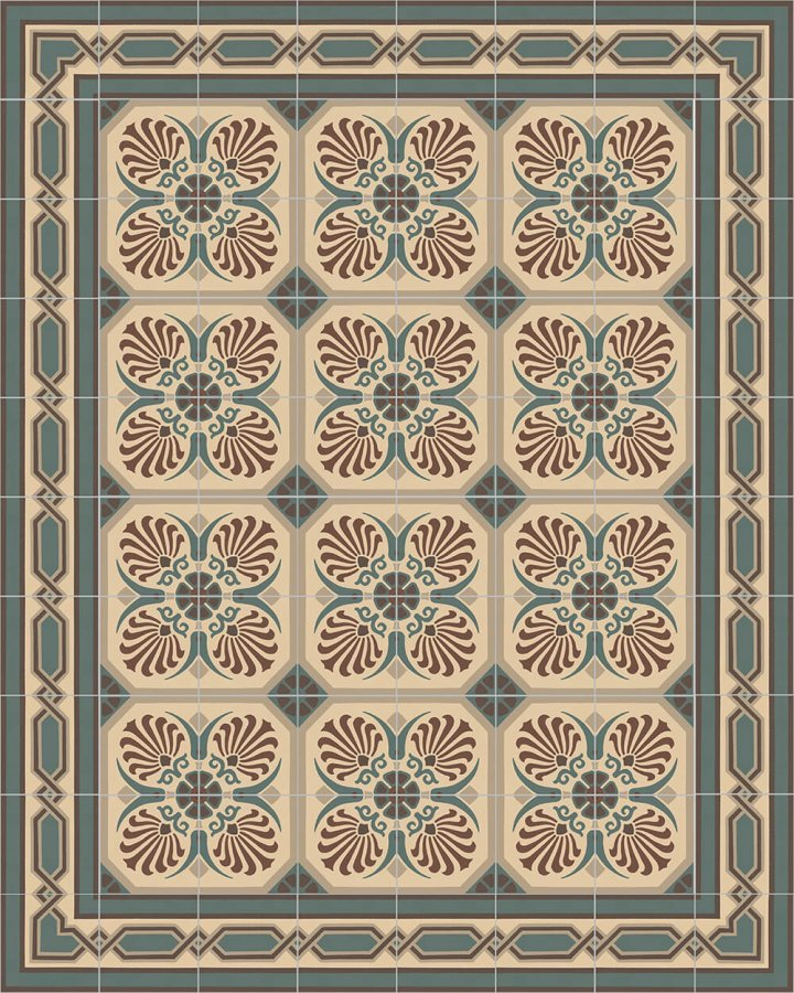 Floor tiles Floor Tiles multi-coloured Layouts and patterns SF 558 B