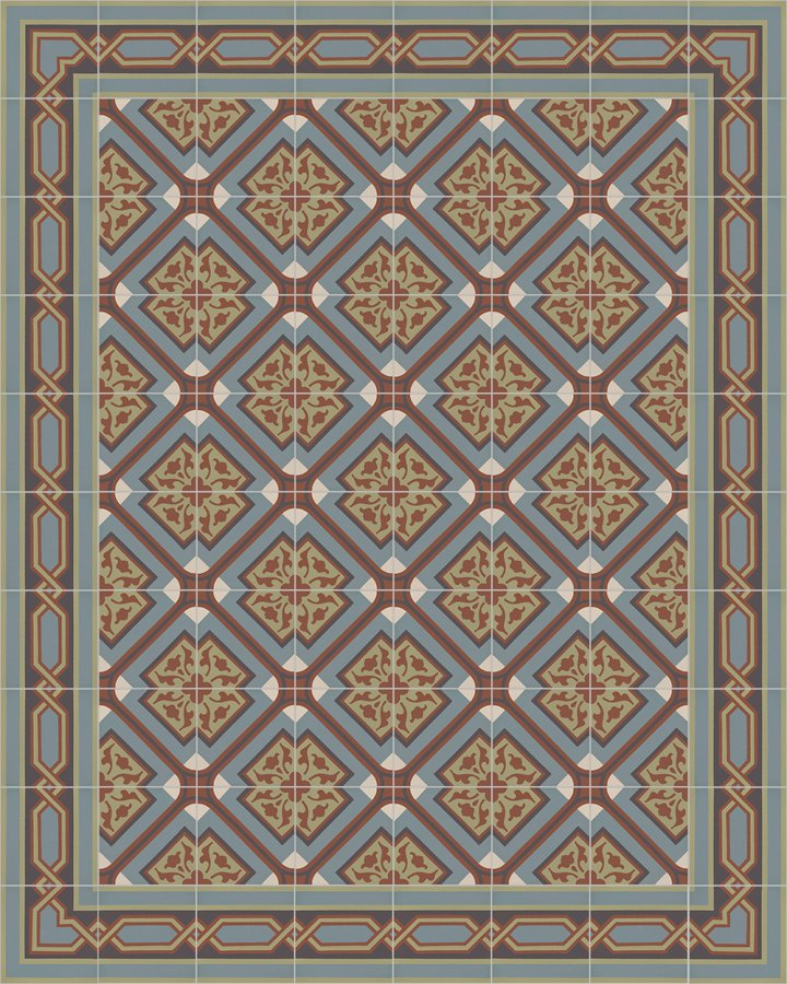 Floor tiles Floor Tiles multi-coloured Layouts and patterns SF 556 E