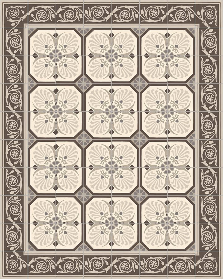 Floor tiles Floor Tiles multi-coloured Layouts and patterns SF 558 E