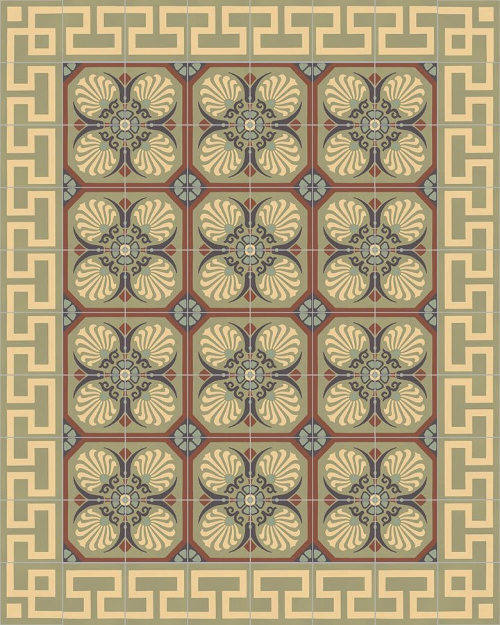 Floor tiles Floor Tiles multi-coloured Layouts and patterns SF 558 J