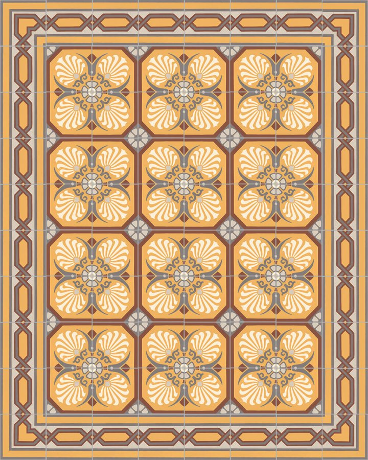 Floor tiles Floor Tiles multi-coloured Layouts and patterns SF 558 K