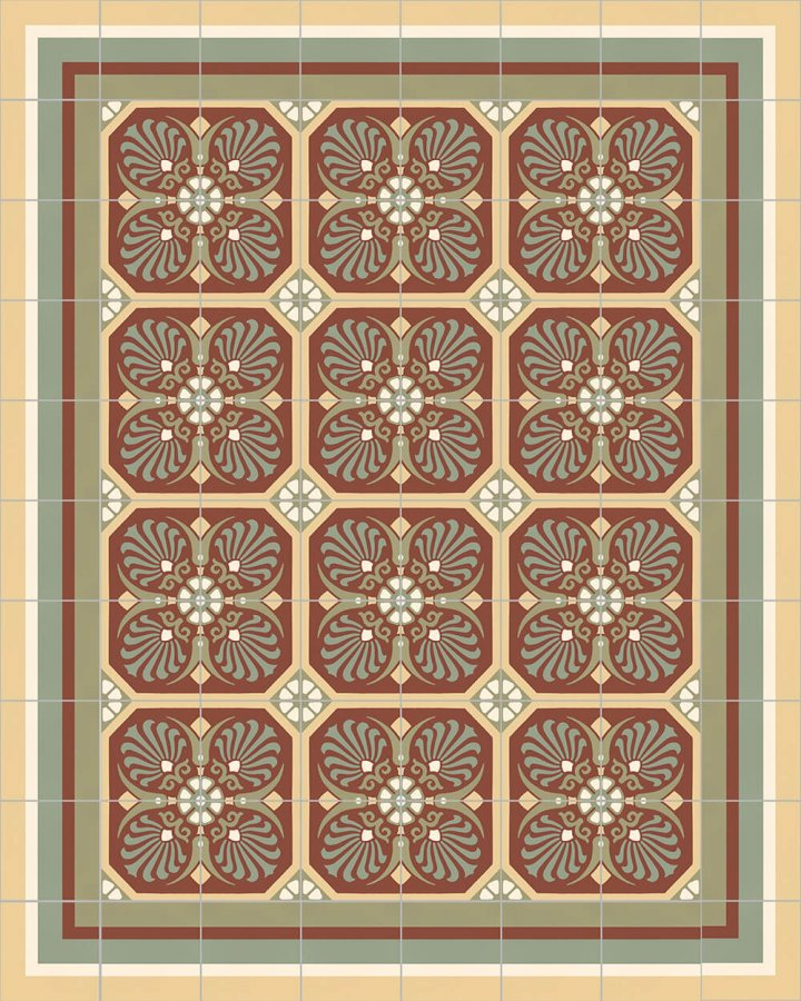 Floor tiles Floor Tiles multi-coloured Layouts and patterns SF 558 I